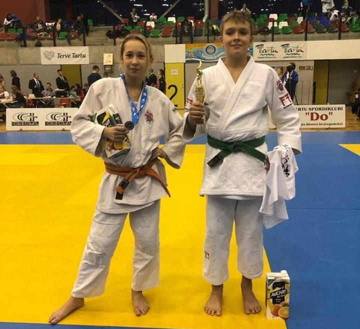 Международный турнир по дзюдо «Tartu Open 2018»