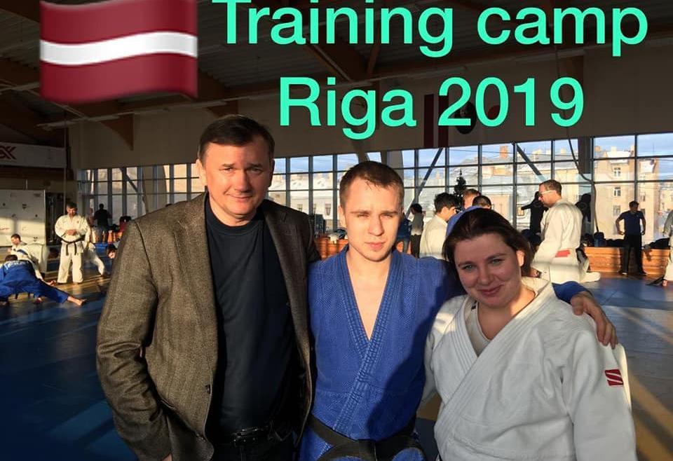 Международный учебно-тренировочный сбор в Риге 2019