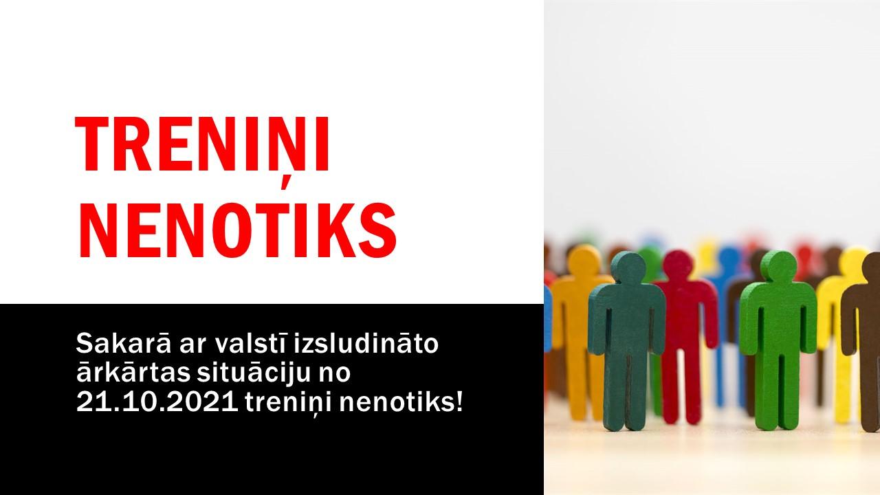 TRENIŅI NENOTIKS NO 21.10.2021